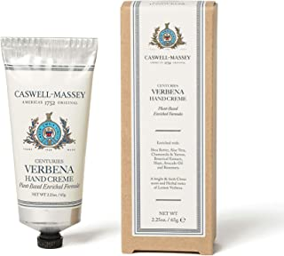 product image for Caswell-Massey Centuries Verbena Hand Creme 2.25 oz – Shea Butter Hand Moisturizer With Fresh Citrus Scent