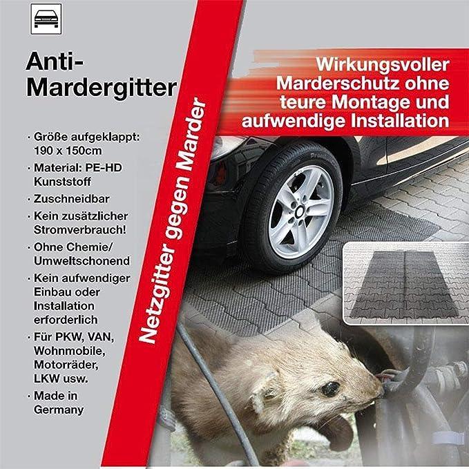 Kds Iwh 3 Anti Marder Gitter Mardergitter 190x150cm Marderschutz Marderabwehr Neu Auto