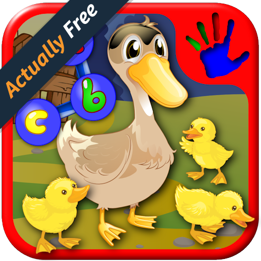 Math Maze Puzzle (Preschool ABC Farm and Animal Join the Dot Puzzles - teaches kids the numbers letters and shapes suitable for toddlers and young kindergarten children)