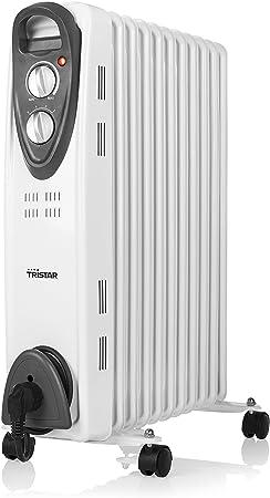 Tristar KA-5091 Radiador de Aceite, 2000 W, 11 cuerpos-2000 Watt: Amazon.es: Bricolaje y herramientas
