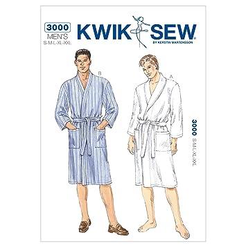 Amazon.com: Kwik Sew K3000 Robes Sewing Pattern, Size S-M-L-XL-XXL ...