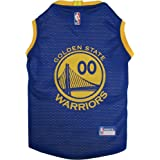 Pets First Golden State Warriors Dog Basketball Mesh Jersey