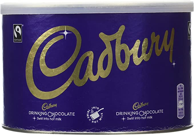 Cadbury Fair Trade Drinking Chocolate 1 Kg Amazoncouk