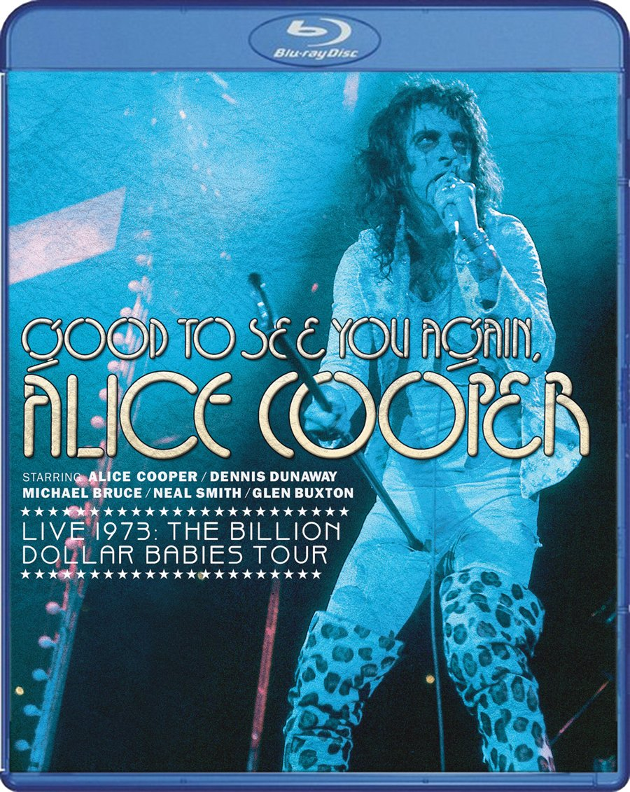 Blu-ray : Alice Cooper - Good To See You Again, Live 1973: Billion Dollar Babies Tour (Blu-ray)