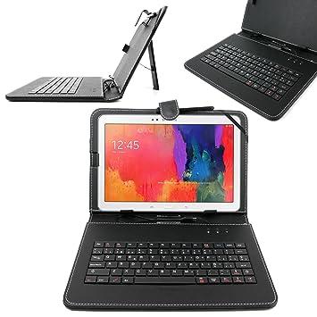 """DURAGADGET Funda/Teclado ESPAÑOL Con Letra Ñ Para Samsung Galaxy Tab Pro 10.1"""" Con"""