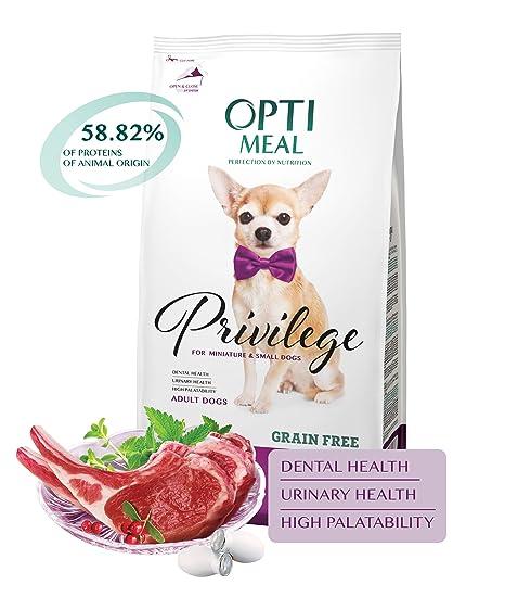 Amazon.com: Optimeal Comida para mascotas seca completa sin ...