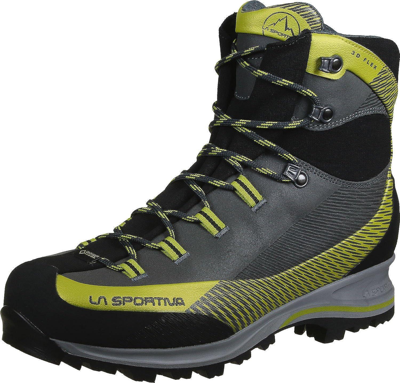 La Sportiva Unisex-Erwachsene Trango TRK Leder GTX Carbon/Grün Trekking-& Wanderstiefel