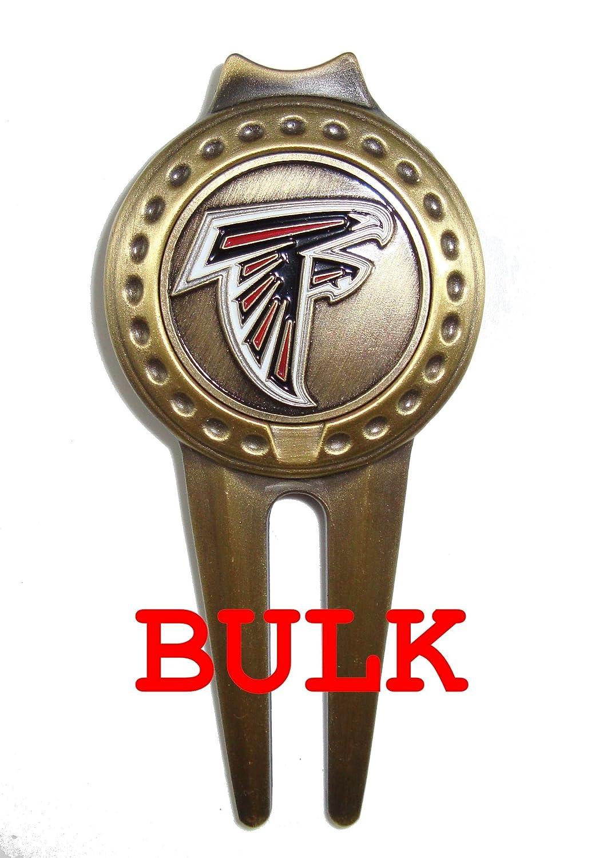 バルク: 50 Atlanta Falcons Divotゴルフボールマーカー、ツール   B00PM5VKFM