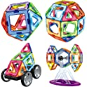 Manve Magnetic 87-Piece 3D Building Blocks Toys Set