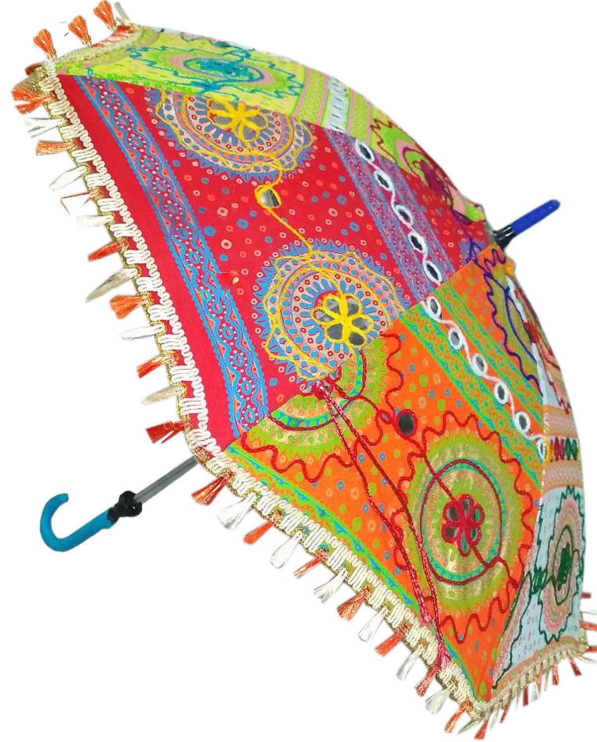 684c694b964c8 Handmade Rajasthani Umbrella: Amazon.in: Bags, Wallets & Luggage