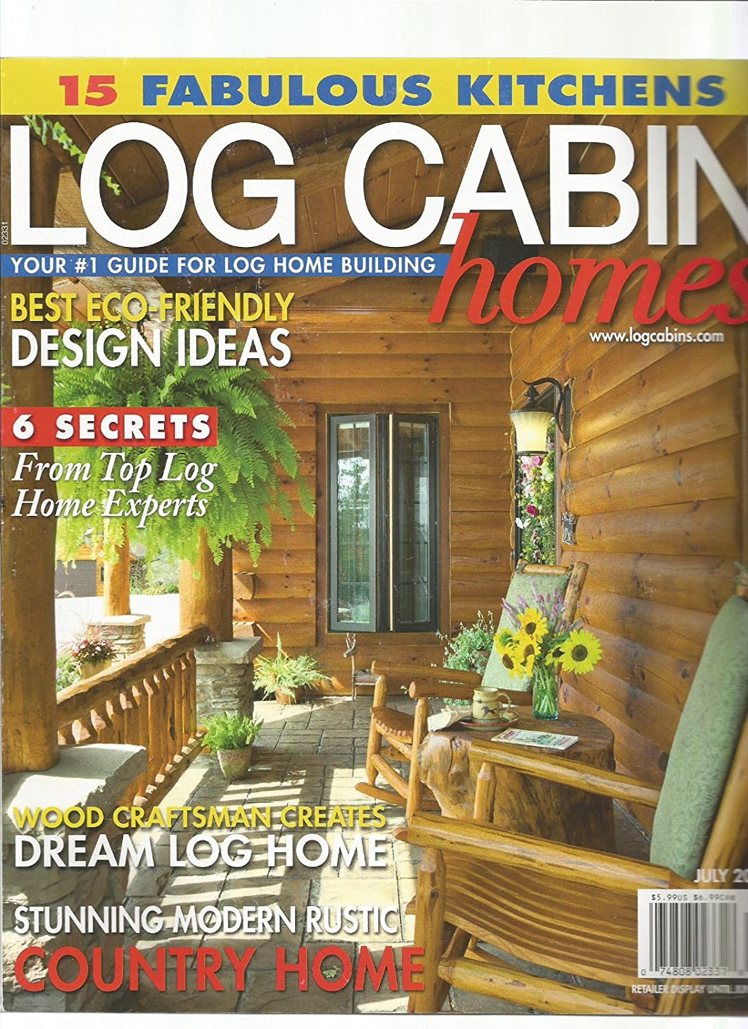 Captivating Amazon.com : LOG CABIN HOME MAGAZINE YOUR #1 GUIDE FOR LOG HOME BUILDING  JULY 2017 : Everything Else