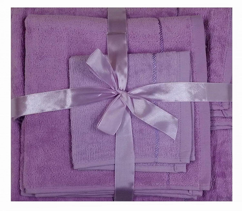 3 Piece Towel Bale Set of Bath Towel Hand Towel Face Towel Luxury quality 100% cotton weighing 500gsm (Blue) Shumaxx