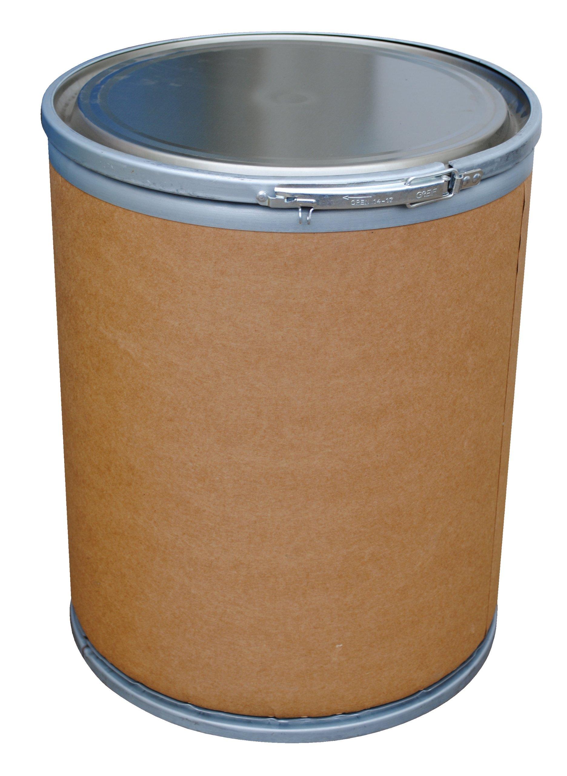 Vestil FD-15 Fiber Open Head Drum, 15 Gallon Capacity, 20'' Height x 15-3/4'' Diameter