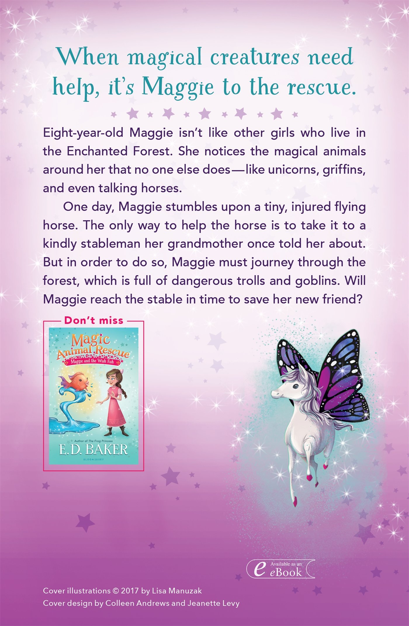 Amazon magic animal rescue 1 maggie and the flying horse amazon magic animal rescue 1 maggie and the flying horse 9781681191416 ed baker lisa manuzak books fandeluxe Ebook collections