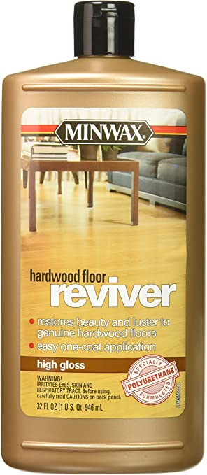 Minwax 609504444 Hardwood Floor Reviver 32 Ounce High Gloss