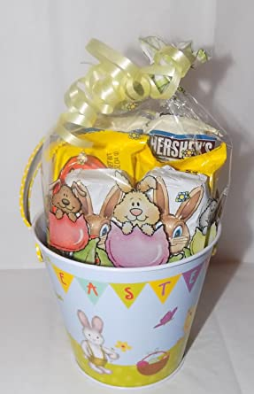 American reeseshershey easter gift bag bucket 6 x items american reeseshershey easter gift bag bucket 6 negle Image collections
