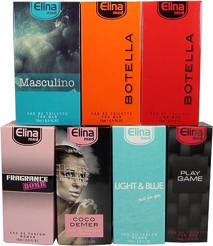 Set de 7 (siete) Perfumes de Primera Calidad Importados -ref23- de 15