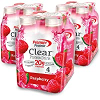 Deals on 12-Count Premier Protein Clear Drink Raspberry 16.9oz