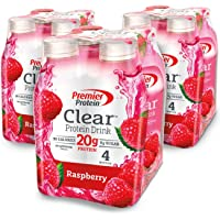 12-Pack Premier Protein Clear Drink in Raspberry