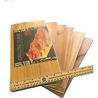 Gourmet Pacific Cedar Grill Planks - (6 Pack 14″ x 7″ x 3/8