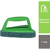 Scotch-Brite Bathroom Brush with Abrasive Fibre Web (Green).