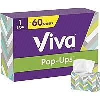 Viva Pop-Ups - Toallas de papel, 60 hojas, color blanco
