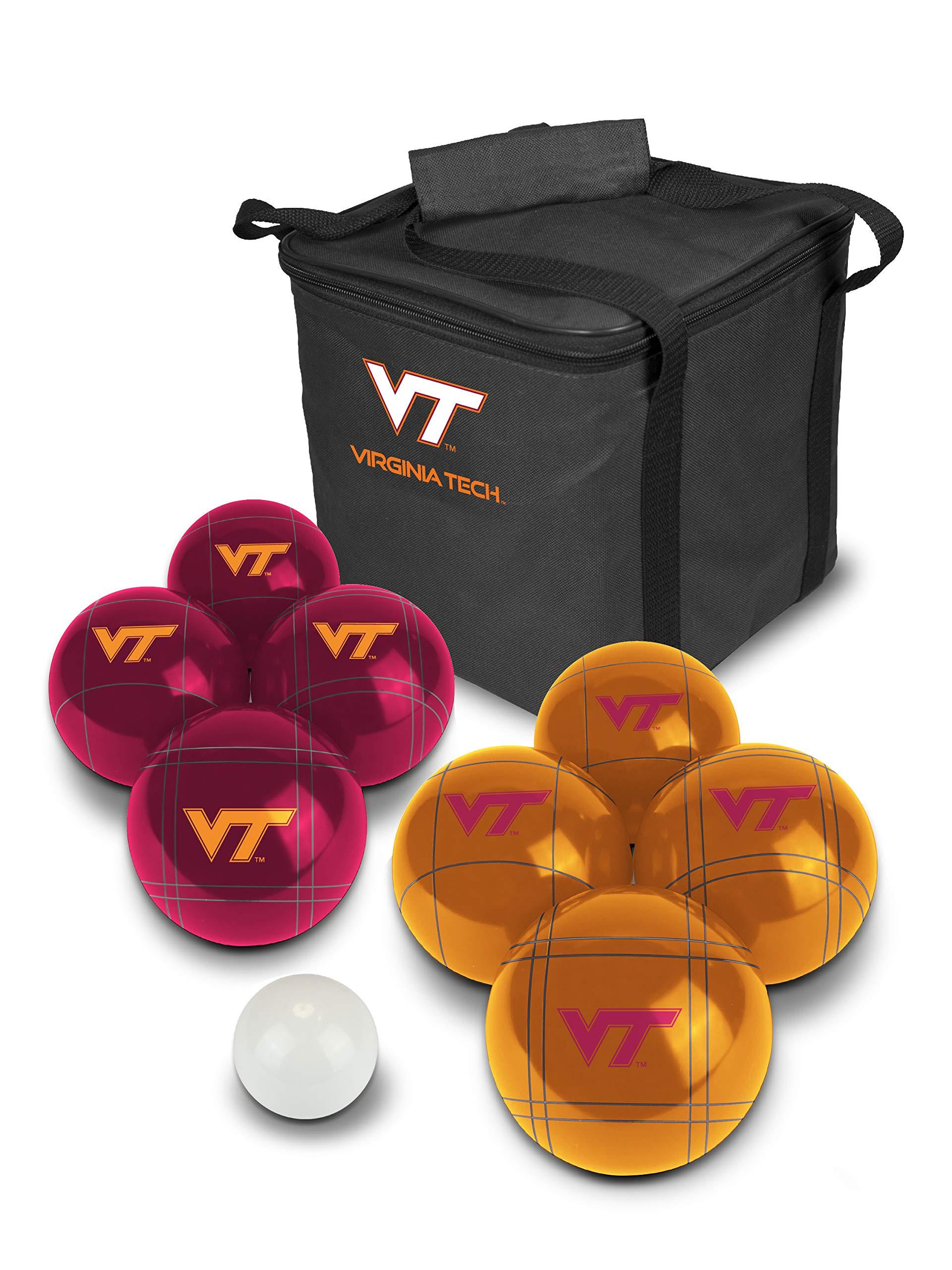 PROLINE NCAA College Virginia Tech Hokies Bocce Ball Set by PROLINE