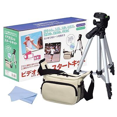 HAKUBA バッグ三脚セット ビデオカメラスタートキット HDVCLT 税込907円 プライム会員送料無料