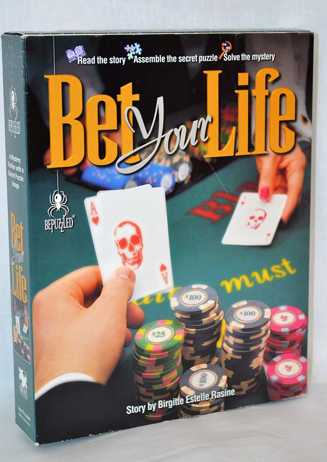 Bet Your Life Mystery Jigsaw Puzzle by Bepuzzled