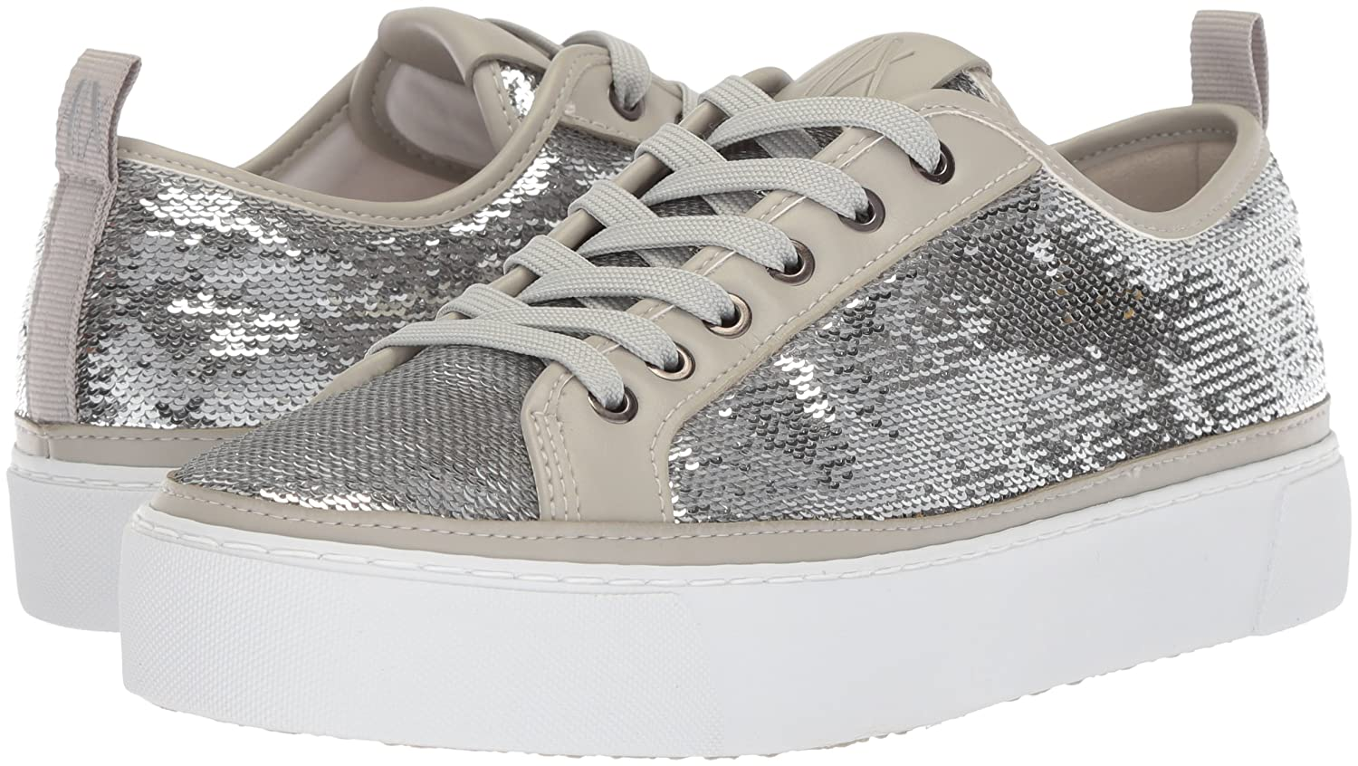 A|X Armani Exchange Women's Sequined Low B(M) Cut Sneaker B0749WFD22 9 B(M) Low US|Antarctica c75af2