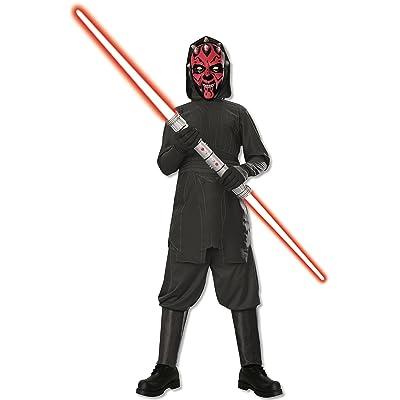 Rubies Star Wars Darth Maul Costume, Medium: Toys & Games