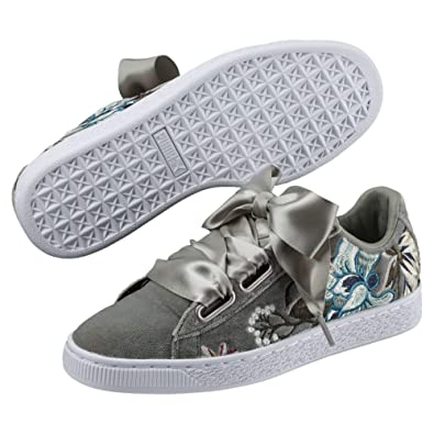 Puma Basket Heart Hyper Embroidery Damen Sneaker: Amazon.de: Schuhe ...