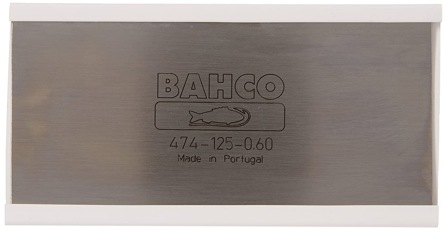 Bahco 474 Cabinet Scraper 5 X 2.1/2in-23g 474-125-0.60 Cabinet Scrapers Cabinet Scrapers - Rectangle Hand Tools Woodworking Tools