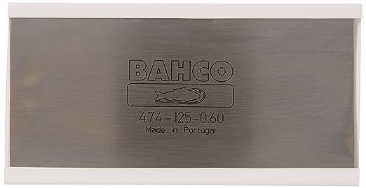 Bahco 474-125-0.60, Rasqueta de Carpintero, 125 x 0.6 mm: Amazon.es: Bricolaje y herramientas