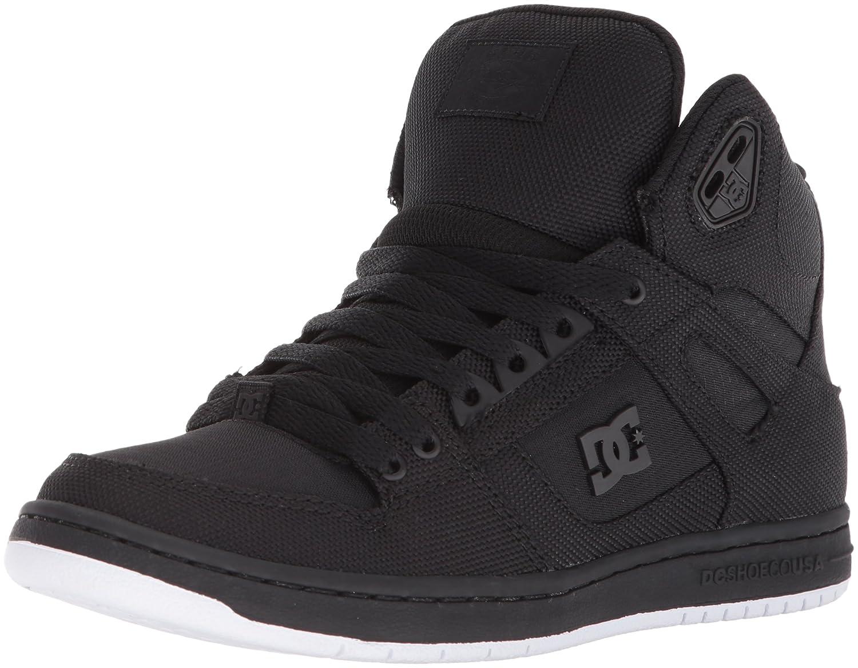 DC Women's Pure High-Top TX SE Skate Shoe B0731XZKVK 5 B(M) US Black