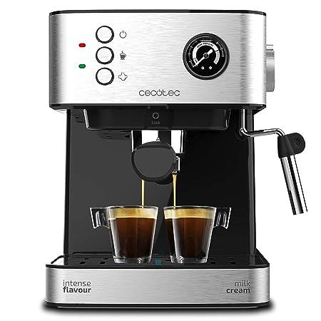 Cecotec Cafetera Express Power Espresso Professionale para Espresso y Capuccino, de 20 Bares con Manómetro Medidor de Presión.: Amazon.es: Hogar