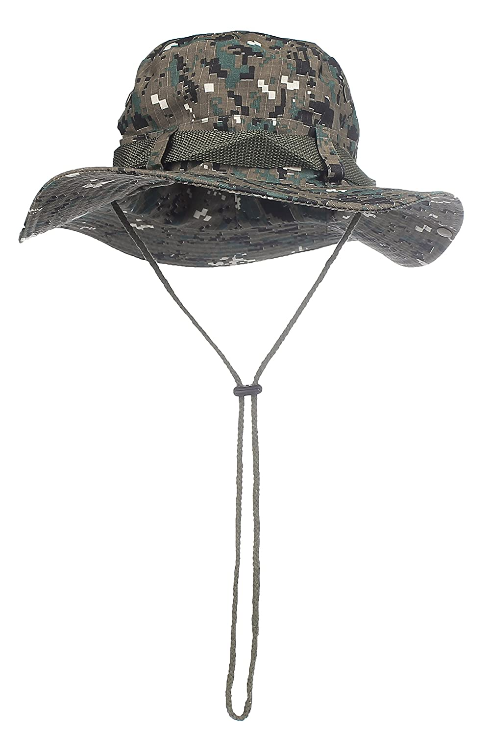 Camouflage Bucket Hats Wide Brim Sun Fishing Bucket Hat (Brown Camo) at  Amazon Men s Clothing store  cabe844359f
