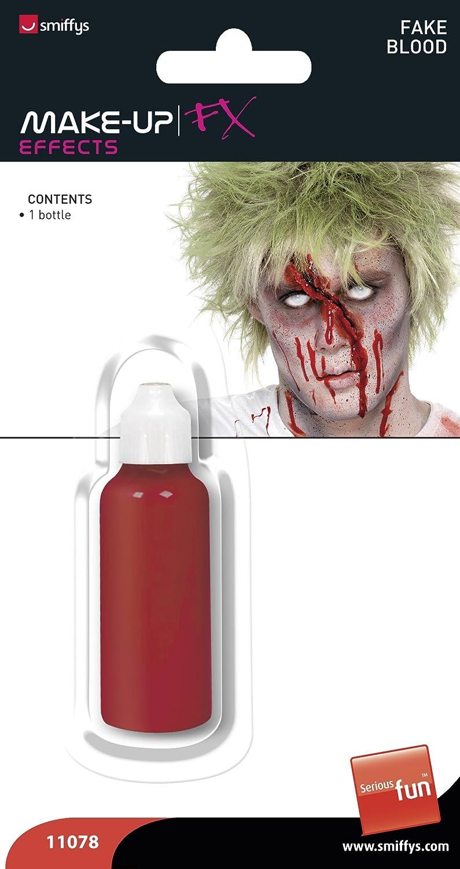 Smiffys- Smiffys Sangue da Vampiro Time 4 Funin Taglia Unica 11078 Rosa Bottiglia per Adulti