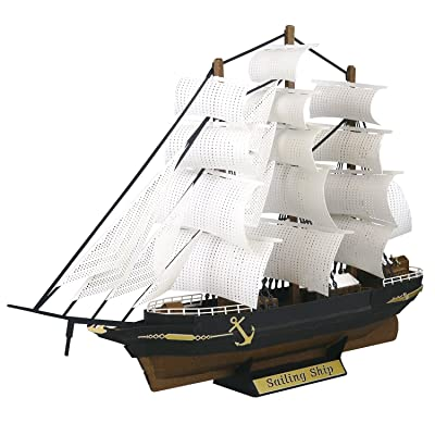 Paper Nano Sailing Ship Building Set: Toys & Games
