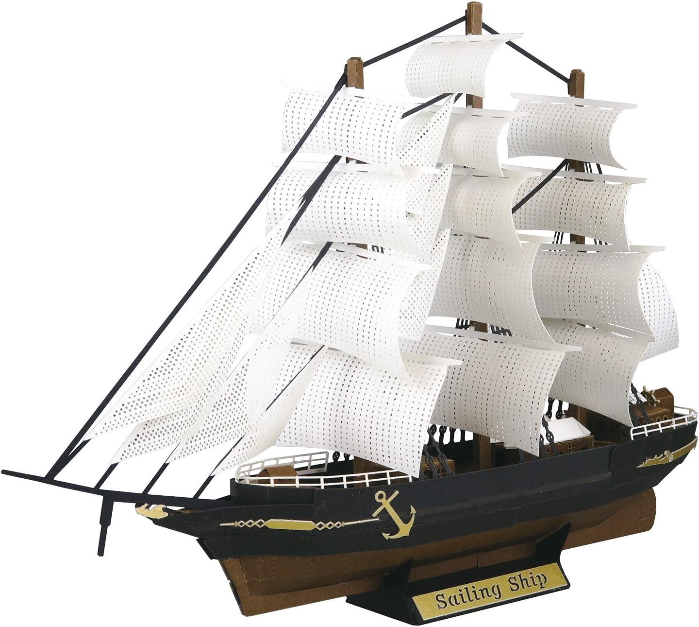 Paper Nano Sailing Ship Building Set