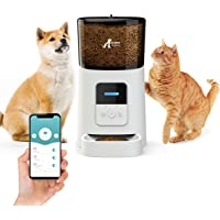OZ PETS CHOSEN Automatic CAT and DOG Feeder,Programmable Portion Control,Up to 15 Meals per Day & 10s Voice Recorder,Low…