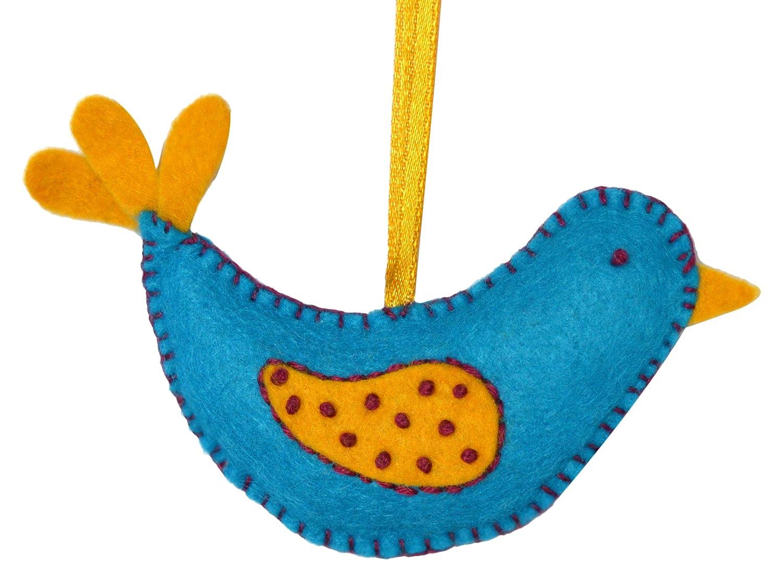 Corinne Lapierre Felt Birdhouse and 2 Birds Sewing Craft Kit One Size Multi-Colour