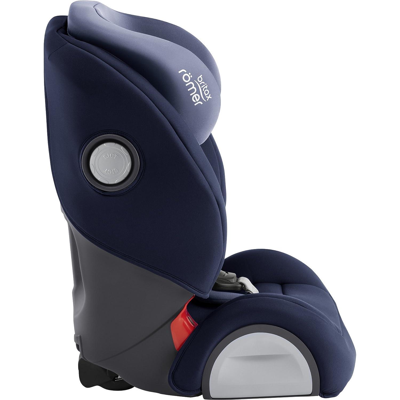 Silla de coche color Moonlight Blue grupo 1//2//3 Britax R/ömer Evolva 1-2-3 SL SICT 9-36 kg