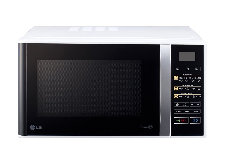 LG MH6842B - Microondas con grill, botón eco, 28 litros de ...