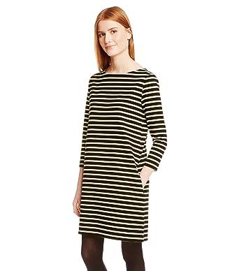 Petit Bateau Damen Kleid Robe ML, Mini, Gestreift  Amazon.de  Bekleidung 4ee976d443