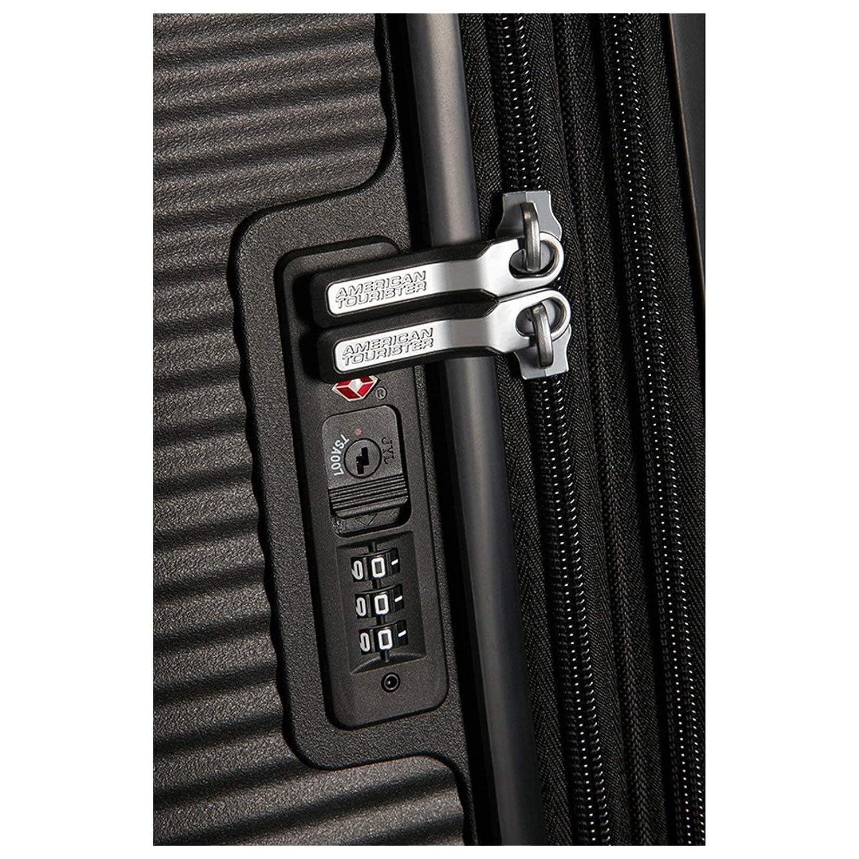 67 cm Set de Bagage 81 L Noir American Tourister Soundbox Black//White