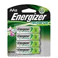 Deals on 8 Pack Energizer Rechargeable AA Batteries NiMH, 2000 mAh