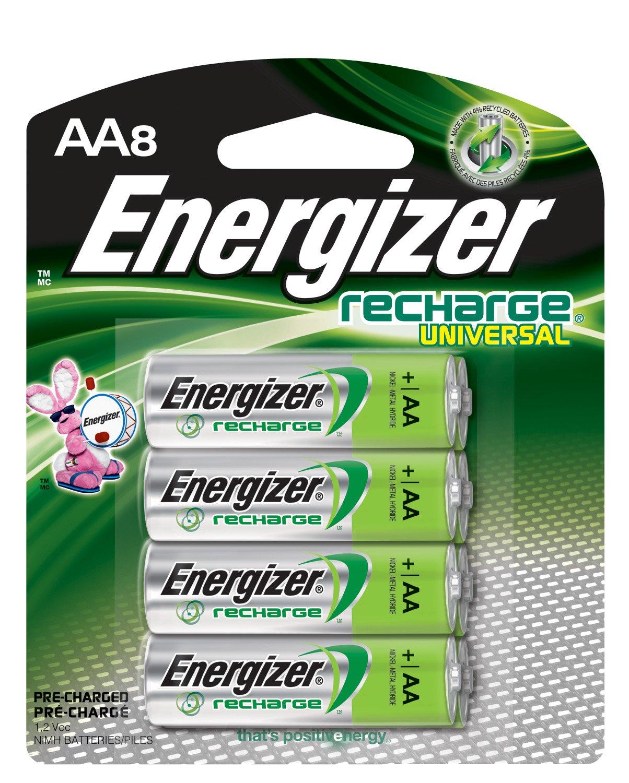 Amazon Energizer Rechargeable Aa Batteries Nimh 2000 Mah Pre
