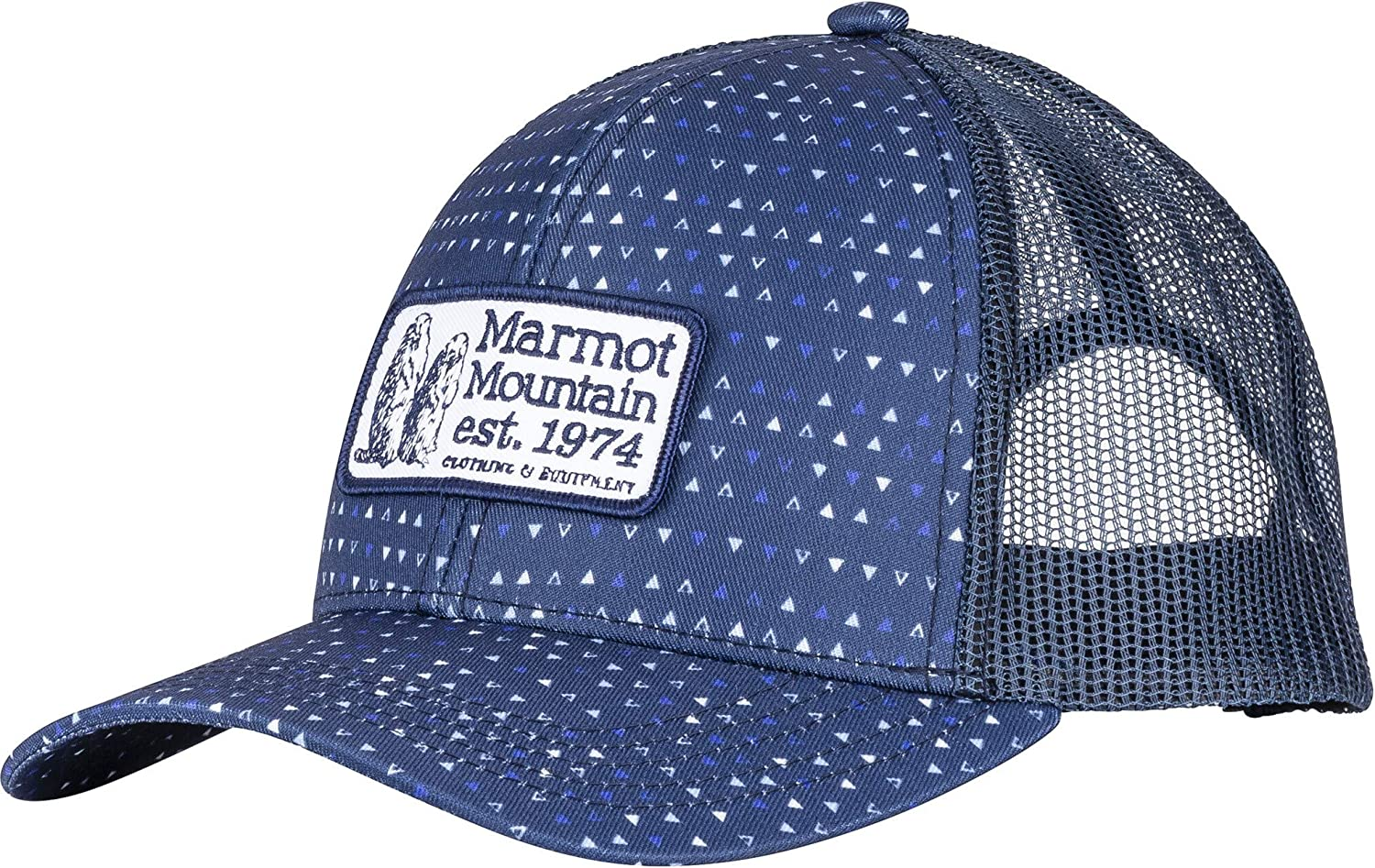 Marmot Angles Trucker Hat Mens One Size 13470-2975-ONE Arctic Navy