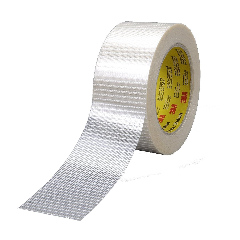 50 mm x 50 m Scotch Bi-Directional Filament Tape 8959 5.7 mil Clear
